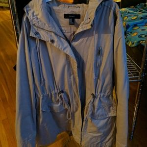 Forever 21 tan trench coat